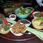 vegetarian set meal