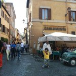 Entering main touristy drag