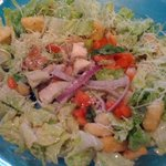 my caesar salad, very tasty