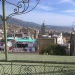 Вид на Медину с террасы