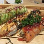 Caterpillar, Torch Rainbow Dragon & SSC (Signature Maki Rolls)