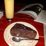 Lassi and cake