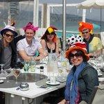 A few friends at the 30th Barco Beach April 2014