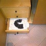 cassetti dell'armadio della mia camera