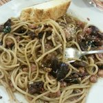 eggplant, olives, capers