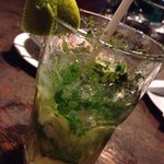 Virgin mojito! 60 baht. Tasted like the 360 baht in fancy hotels!