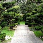 Parque de Guápulo - acceso a la Casa-Hacienda