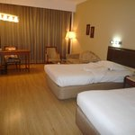 Room with Large Twin Beds