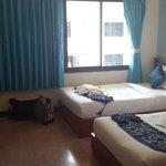 Nice big room & beds
