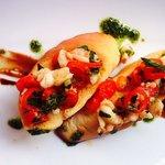 prawn bruscetta