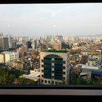 복도에서 바라본 서울전경