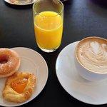 Fairmont Gold breakfast