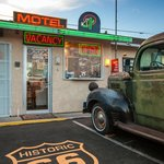 Route 66 Motel Lobby