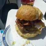 Fantastic home made burger