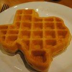 Yum - Texas waffles!