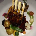 Delious rack of lamb