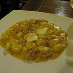 Gnocchi with brie