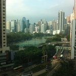 View from my room! Great for HK standard!