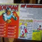 esta es la carta del bar KALIMAN que se encuentra en HOTEL VICTORIA