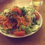 Large and good fresh salad