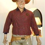 Great John Wayne Statue in Bar