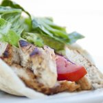Mediterranean Roasted Chicken Shawarma