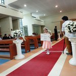 The church is a popular venue for weddings