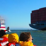 Port of Oakland and Bay Voyager Rib Ride....