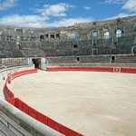 The Roman amphitheater in Nimes is still used today for bullfights