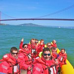 Bay Voyager and Golden Gate Bridge