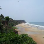 Varkala Beach...nice place in south India.