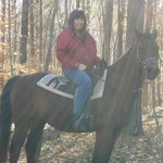 Me riding on a beautiful November day