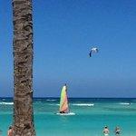 Beautiful beach and warm Caribbean waters