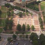 Centennial Park far below
