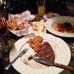 steak frites y saumon belle epoque