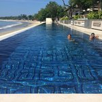 50 meters infinity swimming pool