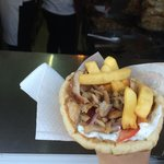 The best pork gyros around