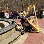 Harp Player - Bethesda Fountain area