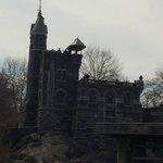 Belvdeder Castle from the Turtle Pond