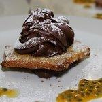 musse al cioccolato e frutto della passione