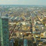 Blick vom Maintower, Frankfurt