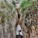 Проход в скале
