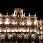 Facha del ayuntamiento Plaza Mayor de Salamanca
