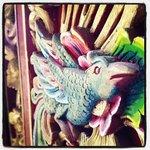 Traditional balinese doors.