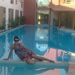 na piscina do spar