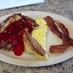 Stuffed French toast special