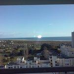 magnifica vista para a praia