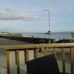 View from the decking at the spring well Inn