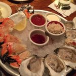 Oysters and Crab Claws