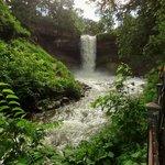 Full-blown Minnehaha Falls!